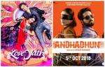 AndhaDhun And LoveYatri Get Poor Start at Box Office