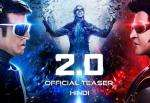 20  Official Teaser Hindi  Rajinikanth and Akshay Kumar