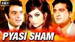 Pyasi Sham | प्यासी शाम | Full Hindi Movie | Sunil Dutt, Feroz Khan, Sharmila Tagore | HD