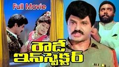 Rowdy Inspector Full Length Telugu Movie | Nandamuri Balakrishna | Ganesh Videos - DVD Rip