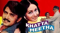 Khatta Meetha (1978) Full Hindi Movie | Rakesh Roshan, Ashok Kumar, Bindiya Goswami