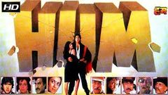 HUM | Action Movie| Amithabh Bachchan, Govinda, Rajnikanth - 1991