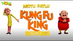Motu Patlu Cartoons In Hindi | Animated movie | Motu patlu Kungfu king returns | Wow Kidz