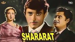 शरारत - Shararat - Meena Kumari, Kishore Kumar, Raaj Kumar - Comedy B&W Movie - HD