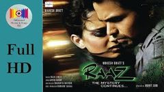 Raaz 2 - The Mystery Continues (2009) l Full Hindi Movie *HD* l Emraan Hashmi, Kangana Ranaut