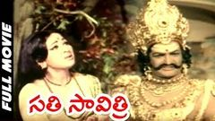 Sati Savitri Telugu Full Length Movie | N.T.R, Krishnam Raju, Vanisri | Telugu Hit Movies