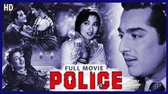 Police - पुलिस Full Movie | Pradeep Kumar, Madhubala | Old Hindi Movies | Classic Bollywood Film