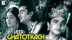Veer Ghatotkach - Chandgi Ram, Mahipal - Super Hit B&W HD Movie