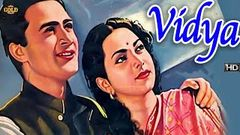 विद्या Vidya 1948 B&W - Dramatic Movie | Dev Anand, Suraiya.