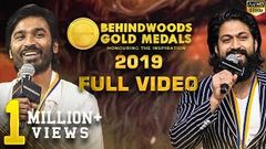 OFFICIAL FULL VIDEO Behindwoods Gold Medals 2019 Full Show Non - stop Entertainment 7th Edition