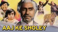 Aaj Ke Sholey - Full Movie - Amrish Puri, Jayanti - Bollywood Hindi Movie