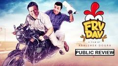 Fryday फ्र्य्दय Bollywood Movie Public Review | Govinda, Varun Sharma, Digangana | Comedy Film