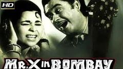 Mr X In Bombay 1964 B&W - Dramatic Movie | Kishore Kumar, Kumkum, Randhir