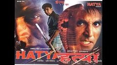 Akshay Kumar& 039;s Hatya Hindi Movie - English and Turkish Subtitle