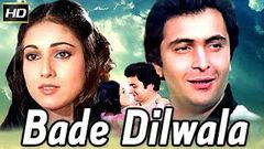 "Bade Dil Wala 1983 ""Hindi Full Movie"" Rishi Kapoor Tina Munim Sarika"