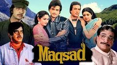 Maqsad Hindi Full Movie | Rajesh Khanna, Sridevi, Jeetendra, Jaya Prada | Bollywood 90& 039;s Movies