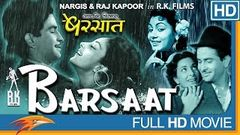 Barsaat Hindi Full Movie HD | Nargis, Raj Kapoor, Prem Nath | Eagle Hindi Movies