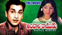 Andala Ramudu Full Length Telugu Movie | ANR, Latha, Nagabhushanam | Ganesh Videos - DVD Rip