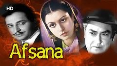 Afsana 1951 {HD} - Full Movie - Ashok Kumar - Veena - Jeevan - Pran - Old Hindi Movies