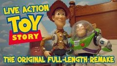 Toy Story Full Movie - Real Toys