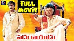 Pedarayudu Telugu Full Movie | Rajinikanth | Mohan Babu | Soundarya | Bhanupriya | Telugu Full Screen