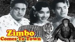 Zimbo Comes To Town Full Movie | Chitra | Bhagwan Dada | Old Classic Hindi Movie | Adventure Movie