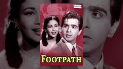 Full Hindi Movie FOOTPATH 1953 HD | Dilip Kumar Meena Kumari | Old Hindi Movies