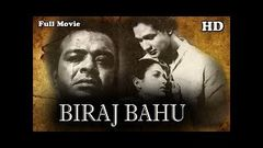 Biraj Bahu (1954) बिराज बहू │Full Hindi Movie│Kamini Kaushal, Bimal Roy, Pran, Shakuntala | Salil