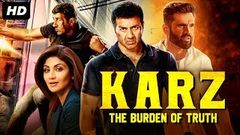 KARZ THE BURDEN OF TRUTH Bollywood Movies Full Movie | Latest Hindi Movie | Sunny Deol, Suniel Shetty