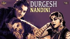 Durgesh Nandini 1956 - Dramatic Movie | Pradeep Kumar, Ajit, Nalini Jaywant.