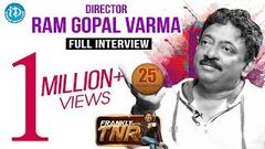 Ram Gopal Varma RGV Exclusive Interview Frankly With TNR 25 Talking Movies with iDream 181