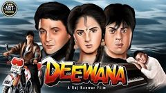 Deewana💔💔Full Movie 1992 | deewana movie Shahrukh Khan, Divya bharti, rishi Kapoor | New hindi movie