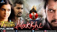 Makkhi Full Hindi Dubbed Movie | Hindi Movies | Sudeep | Nani | Samantha | Hindi Dubbed Movies