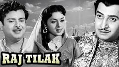 Raj Tilak (1958) Hindi Full Movie | Gemini Ganesan Vyjayanthimala | Hindi Classic Movies