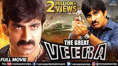 The Great Veera Hindi Dubbed Full Movie | Hindi Action Movies | Ravi Teja | Taapsee Pannu