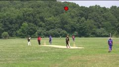 22 Yards batting against Washington TIgers in the Greenline Independence Cup Semi - Final