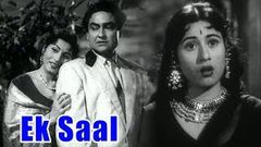 Ek Saal (1957) Full Movie | एक साल | Ashok Kumar, Madhubala