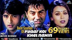 Best Scenes Of Pyaar Koi Khel Nahin | Sunny Deol Movies | Best Bollywood Action Scenes