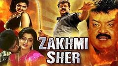 Zakhmi Sher | Full Hindi Dubbed Movie | Siraiyil Pootha Chinna Malar | Vijayakant