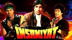 Insaniyat | इन्सानियत | Full Hindi Movie | Amitabh Bachchan, Sunny Deol, Raveena Tandon | HD