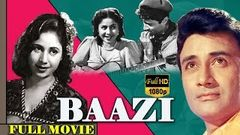 Baazi 1951 Hindi Full Movie I Dev Anand, Guru Dutt, Geeta Bali | Hindi Classic Movies | TVNXT Hindi