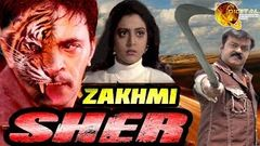 Zakhmi Sher | Hindi Dubbed Action Movie | Vijayakant | Nishanti | Bhanupriya | Full HD