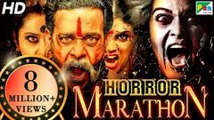 Horror Movies Marathon | South Hindi Dubbed Movies 2020 | Pottu Ek Tantra, Maya Mall Bhoot Ka Khel