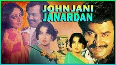 John Jani Janardhan l Rajinikanth, Rati , Poonam Dhillon l 1984 l Super Hit Hindi Action Full Movie
