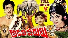 ADAVI VEERULU | TELUGU FULL MOVIE | KANTH RAO | SATYANARAYANA | SRIDEVI | V9 VIDEOS
