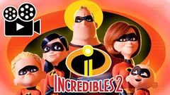 THE INCREDIBLES 2 FULL MOVIE GAME ENGLISH RISE OF THE UNDERMINER Pixar Full Movie Games