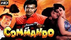 Commando 1988 | Classic Romantic Movie | Mithun Chakraborty, Amrish Puri