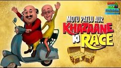 Motu Patlu Aur Khazana - Full Movie | Animated Movies | Wow Kidz Movies