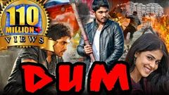 Dum (Happy) Hindi Dubbed Full Movie | Allu Arjun Genelia D& 039;Souza Manoj Bajpayee Brahmanandam