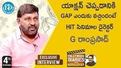 Director G Ramprasad Exclusive Interview || Tollywood Diaries With Muralidhar 4 | iDream Movies